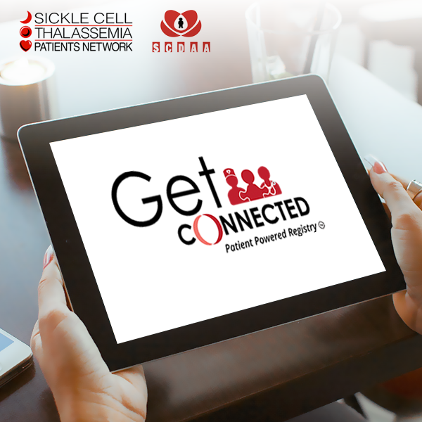 Register with Get Connected, the free Sickle Cell Patient Registry